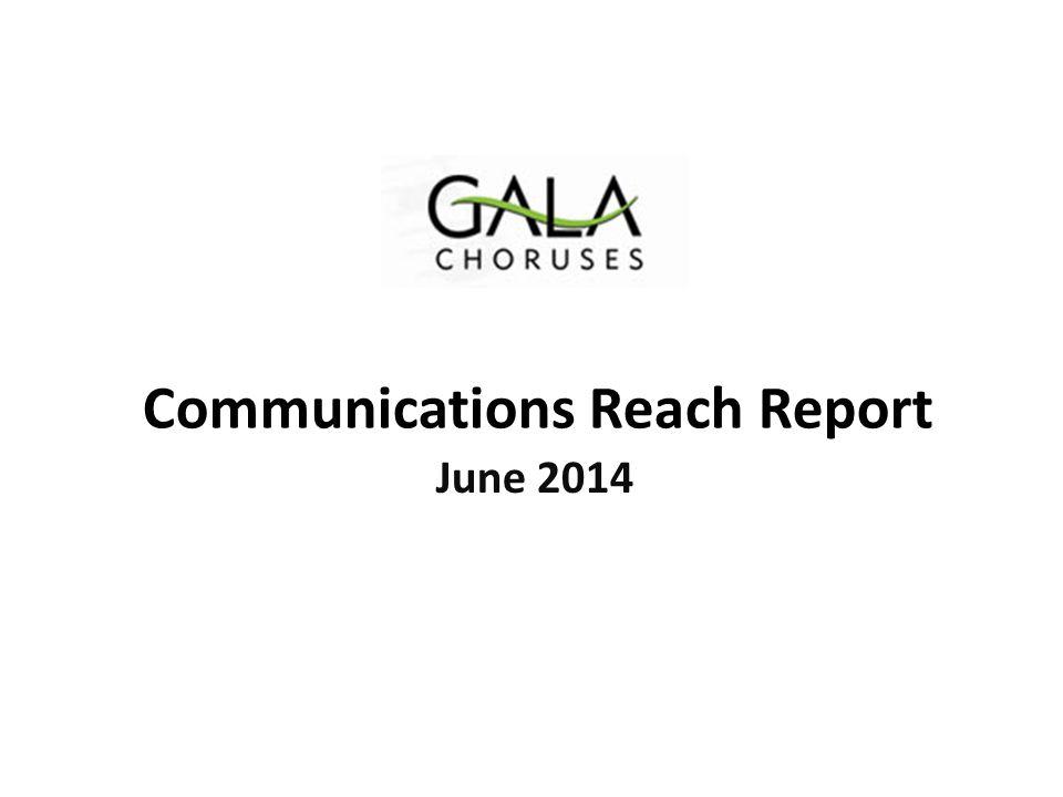 Communications Reach Report June 2014