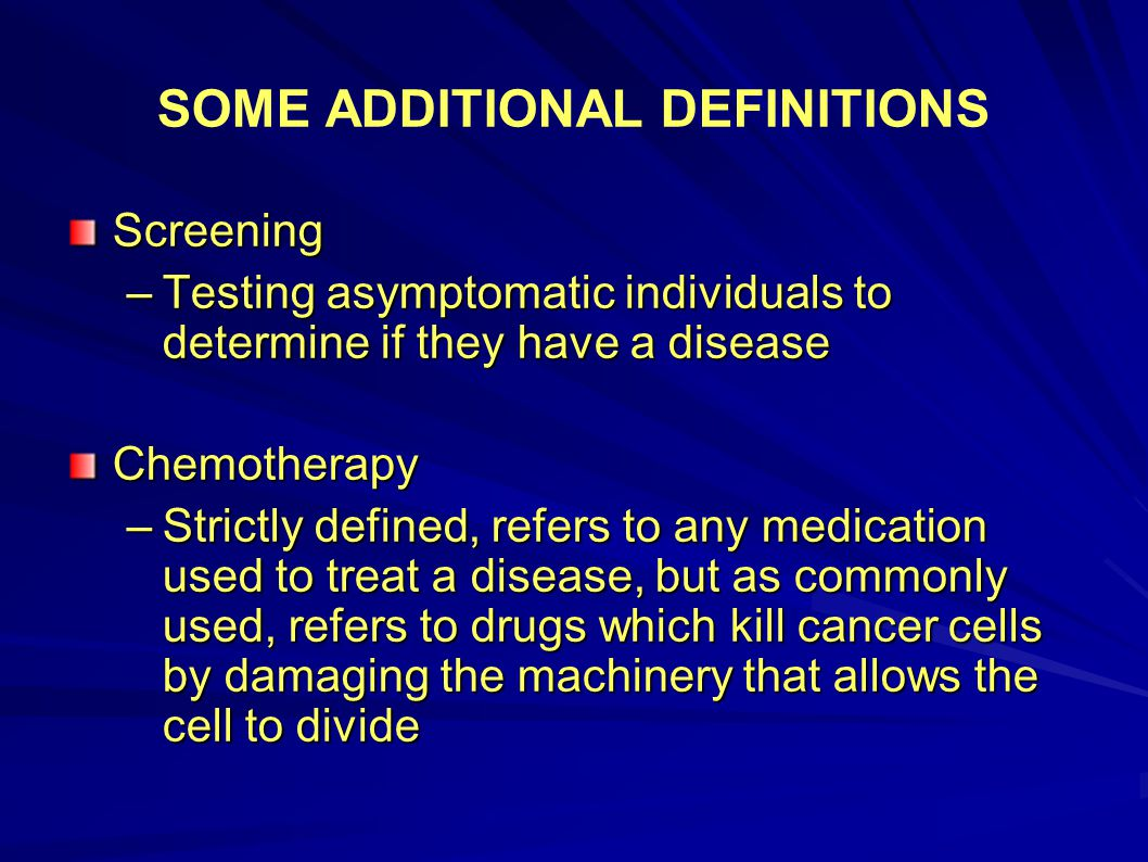 PROSTATE CANCER SCREENING What's the harm.