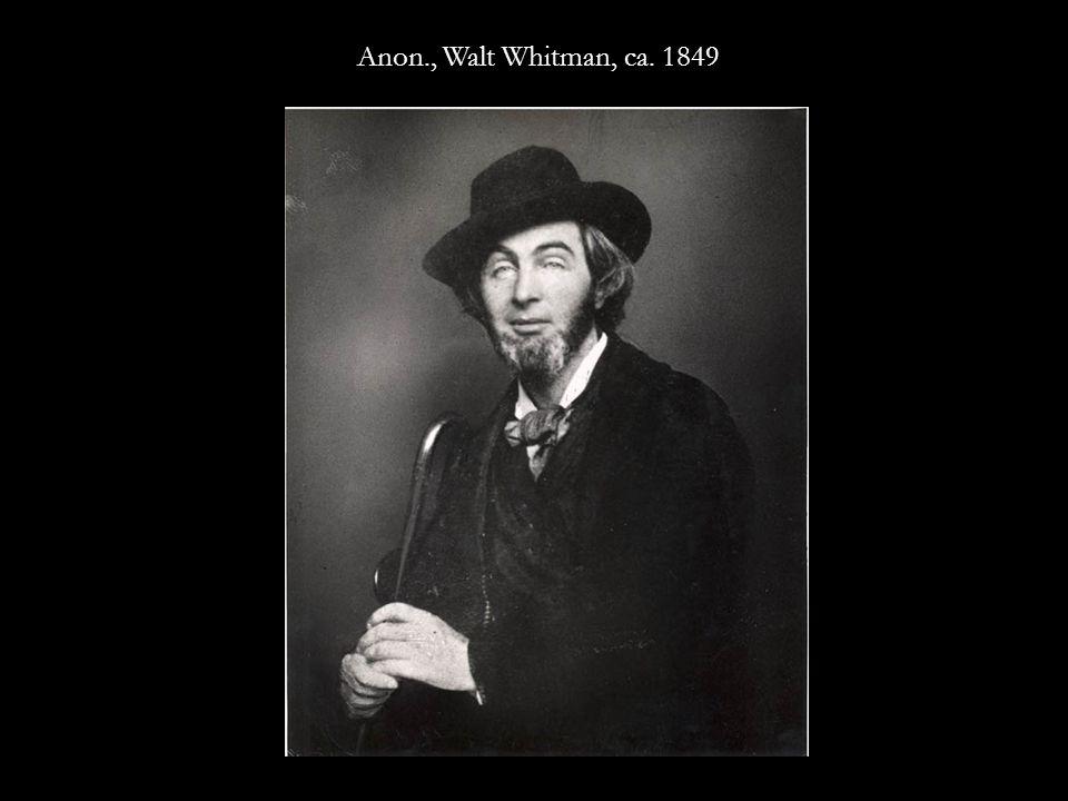Anon., Walt Whitman, ca. 1848