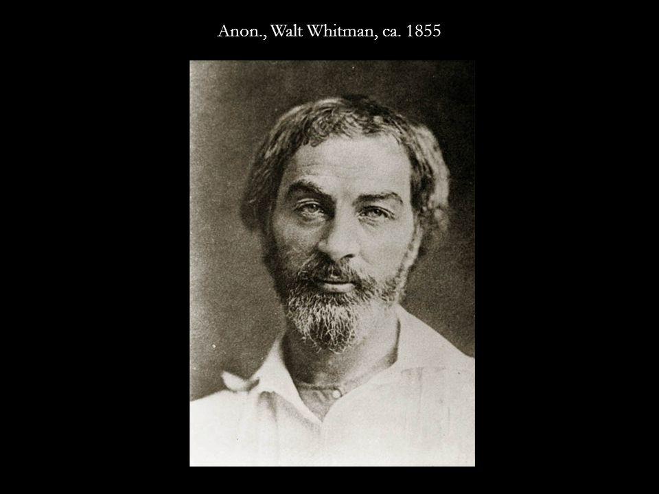 Anon., Walt Whitman, ca. 1849
