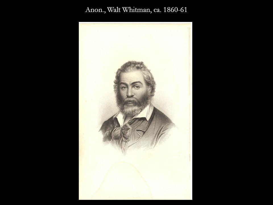 Anon., Walt Whitman, ca. 1859-60