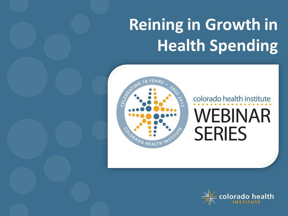 Reining in Growth in Health Spending