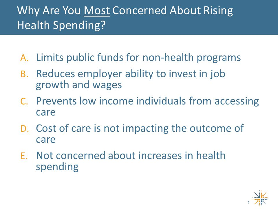A.Limits public funds for non-health programs B.