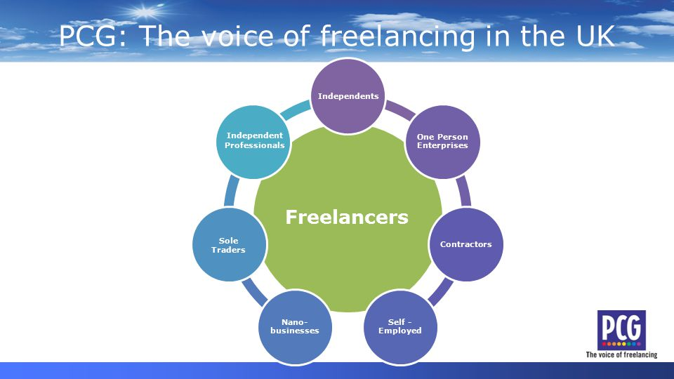 The value of freelancers Independents New research from Cranfield School of Management demonstrates that freelancers play important roles in adding value to the modern UK economy: Unlocking Creative Potential Enabling Innovation and Competitiveness Allowing businesses to always have the 'A Team' Enabling new 'employment' Source: Burke.