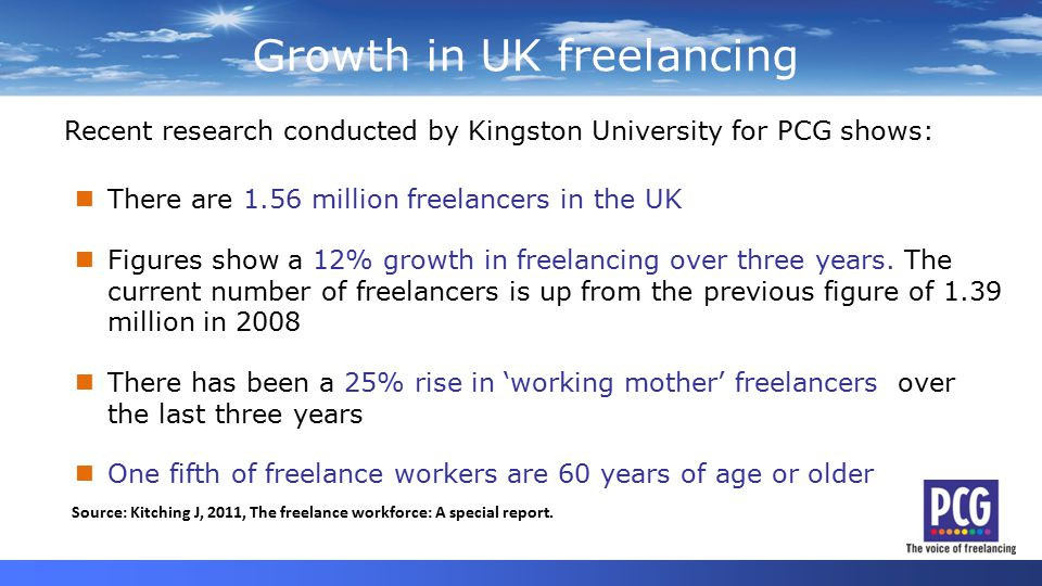 Standing up for freelancers