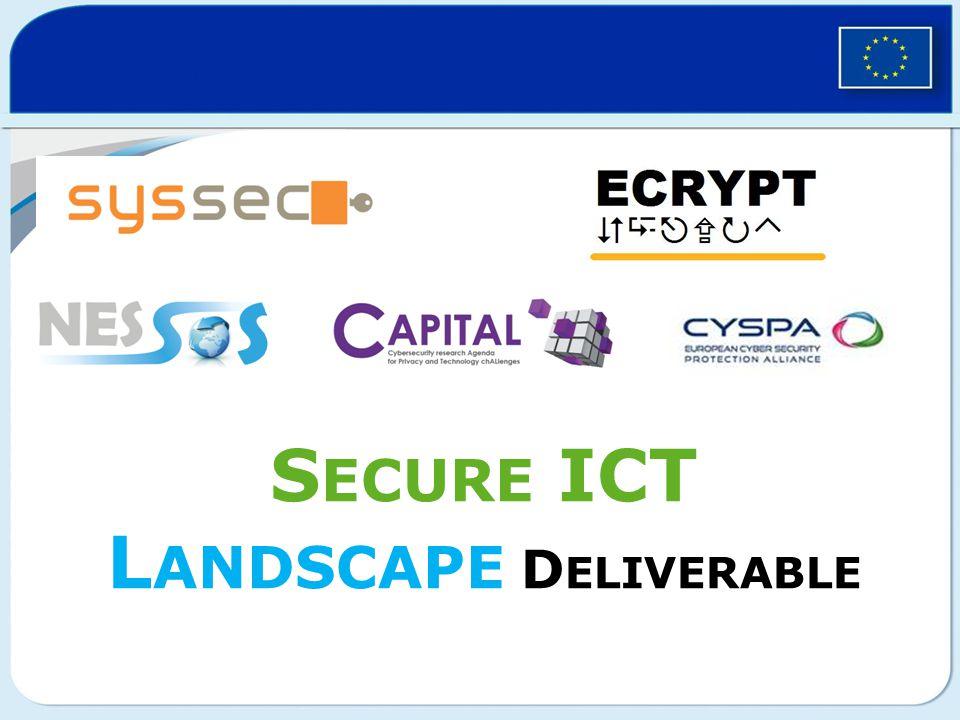 S ECURE ICT L ANDSCAPE D ELIVERABLE