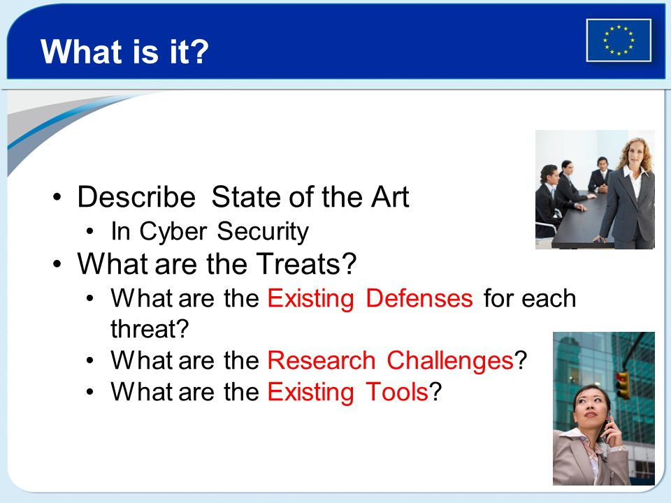 Describe State of the Art In Cyber Security What are the Treats.