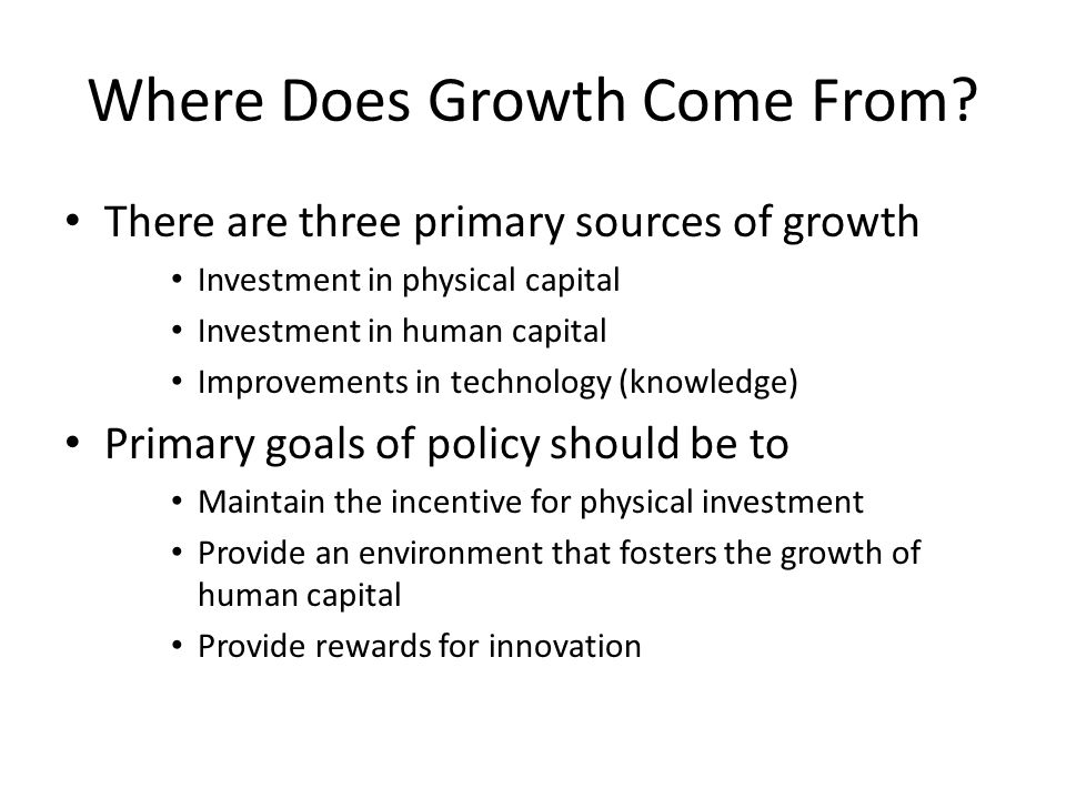 How do People Fit into the Economic Picture.