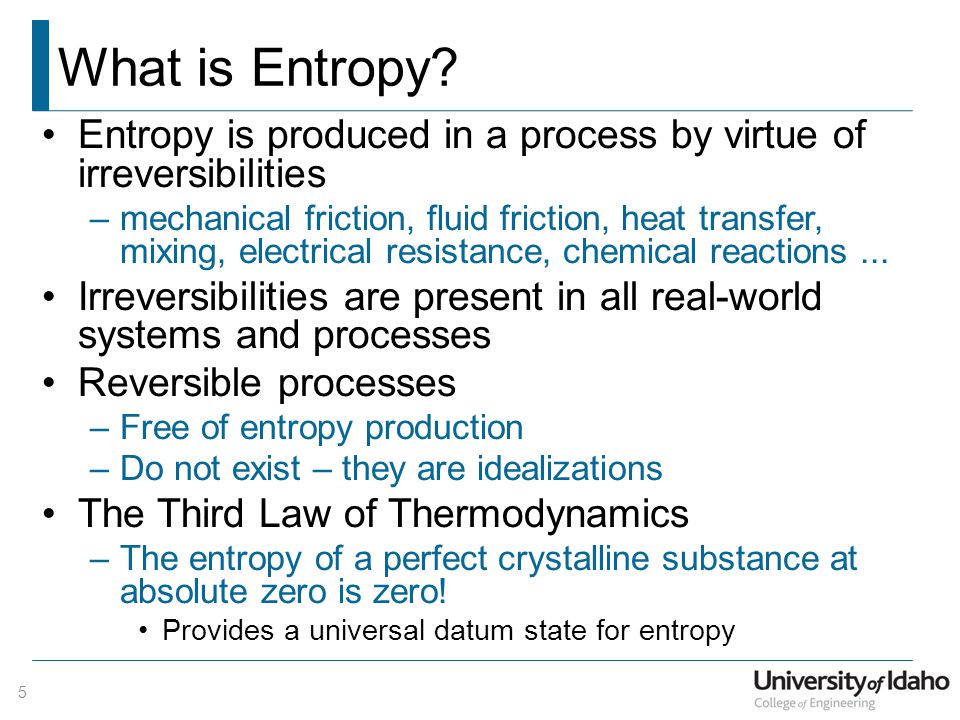 What is Entropy.