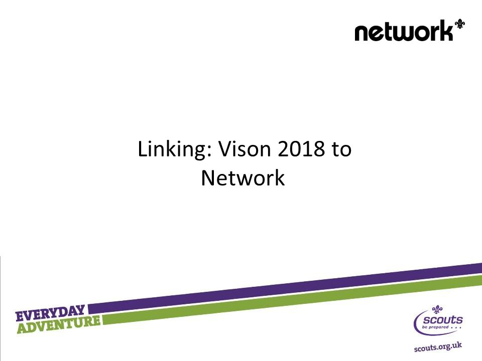 Linking: Vison 2018 to Network