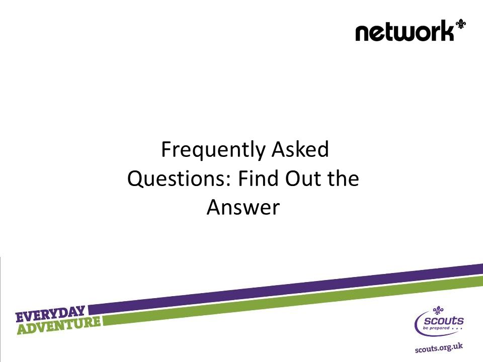 Frequently Asked Questions: Find Out the Answer
