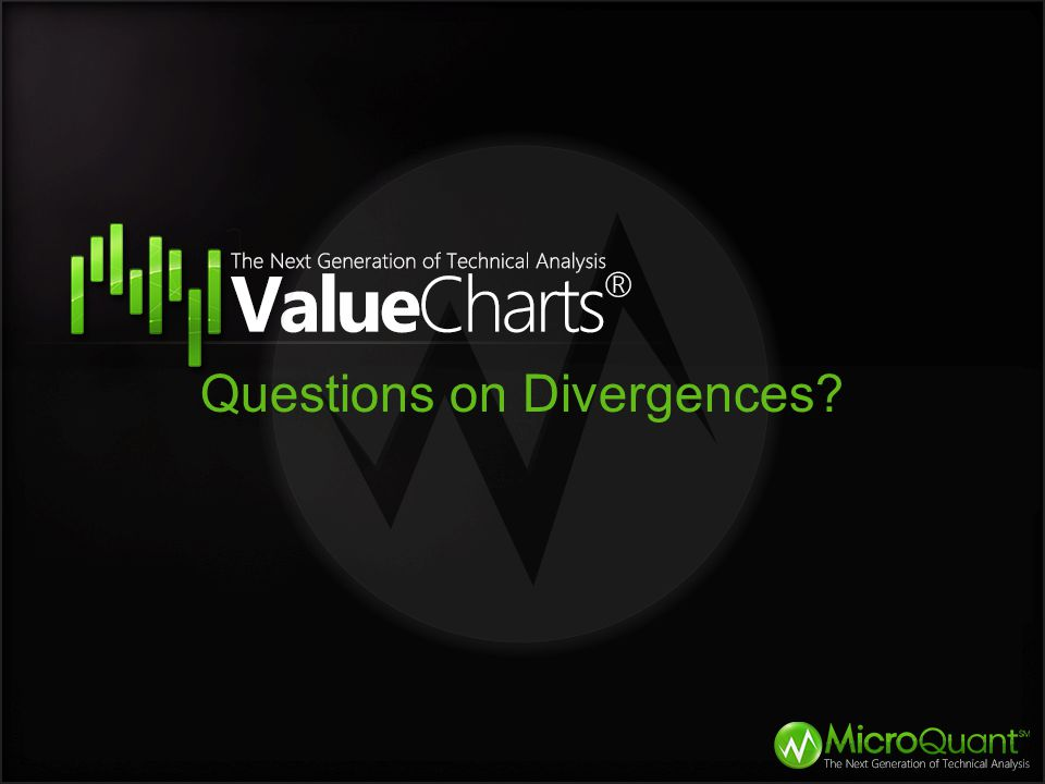 Questions on Divergences?