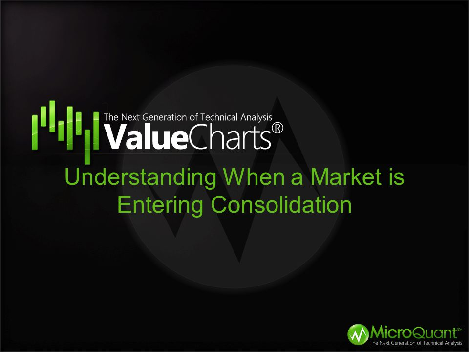 Understanding When a Market is Entering Consolidation
