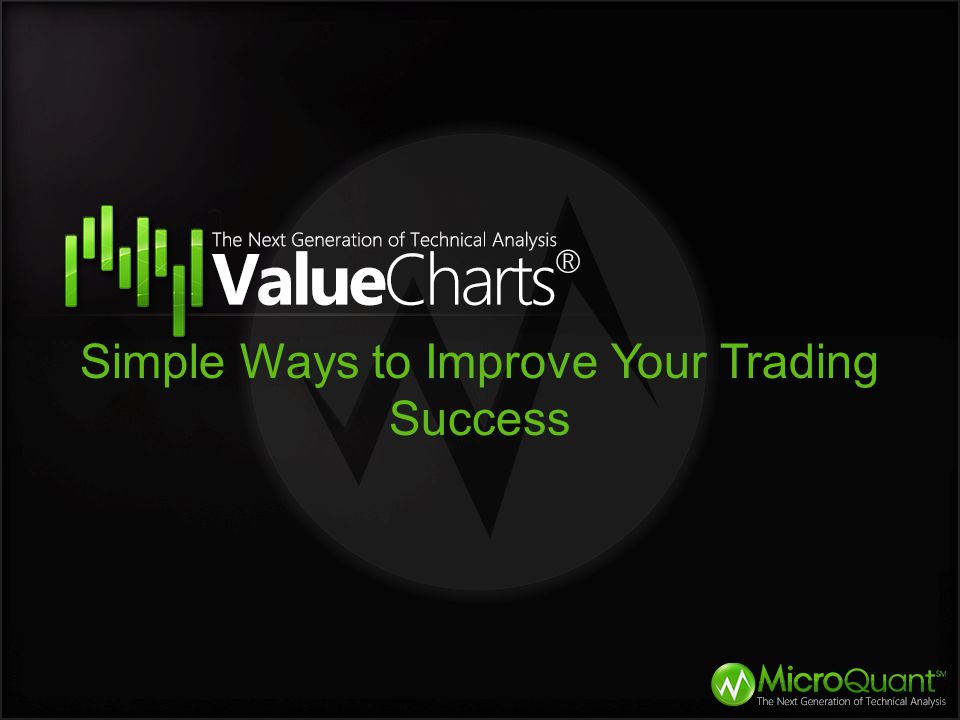 Tips to Improve Trading Success Most people will not wait for the environment to tip itself off.
