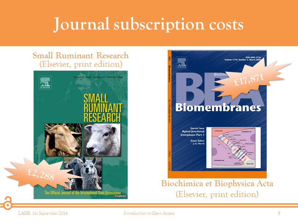 Time for some competition Libraries spend a huge amount on journal subscriptions (mostly in bundles) If value really is being added, the market should be able to handle some scholar-led competition.