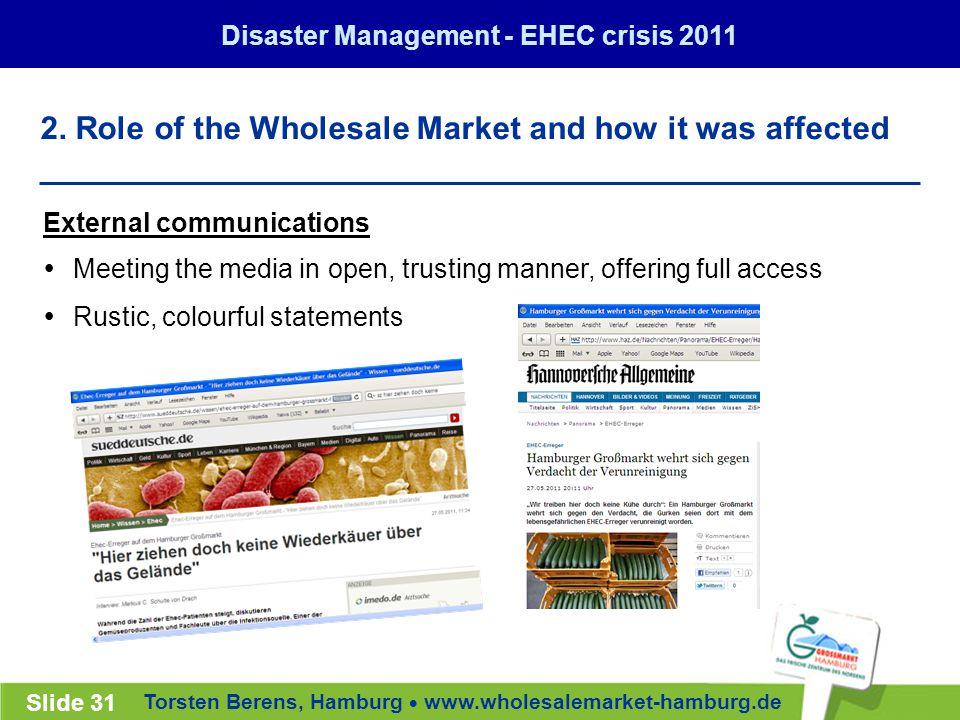 Torsten Berens, Hamburg  www.wholesalemarket-hamburg.de Slide 31 2.
