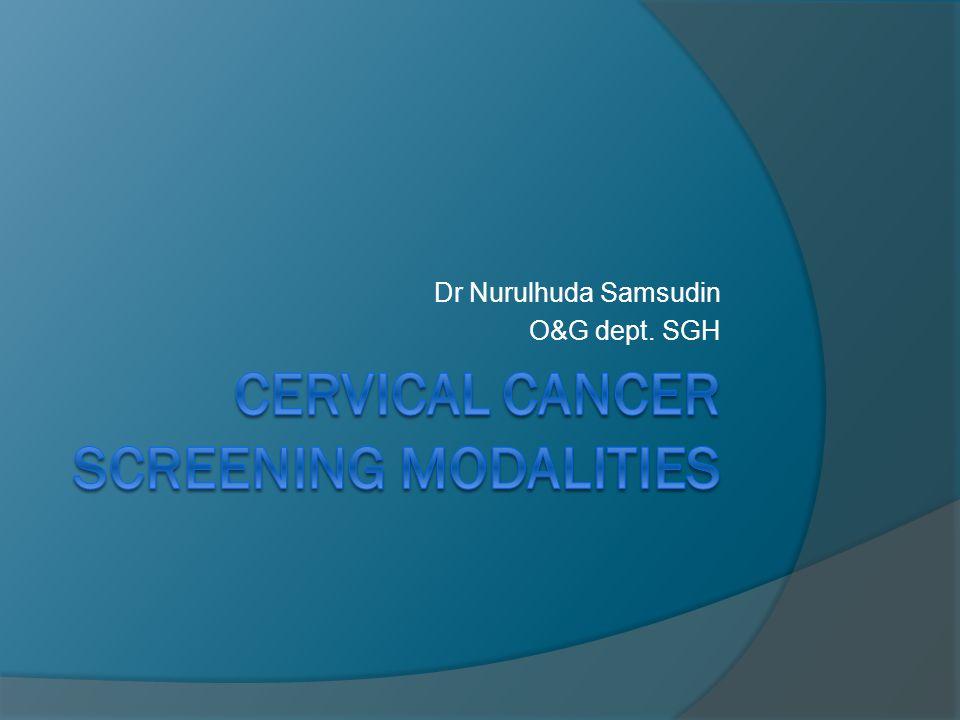 Dr Nurulhuda Samsudin O&G dept. SGH