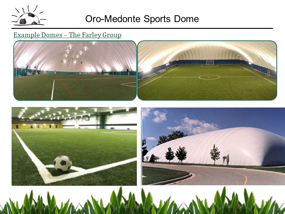 Example Domes – The Farley Group Oro-Medonte Sports Dome