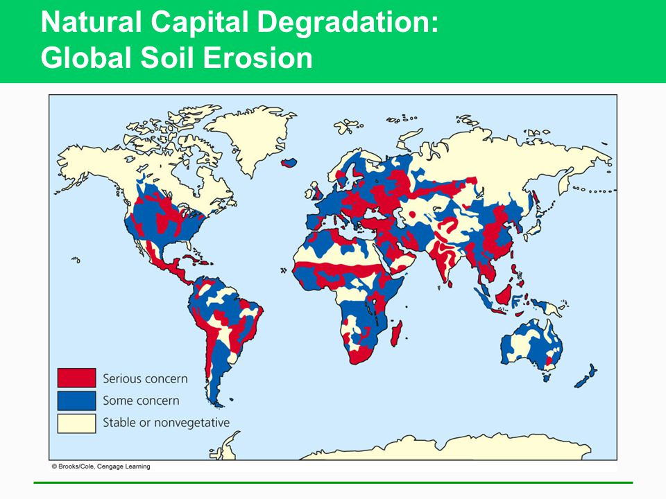 Natural Capital Degradation: Global Soil Erosion