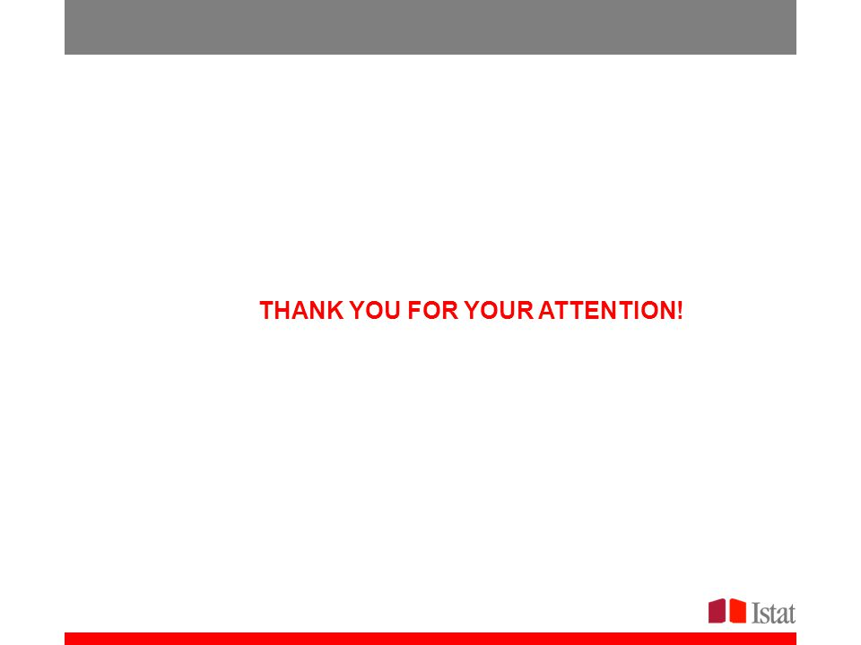 a partire dal 2013 THANK YOU FOR YOUR ATTENTION!