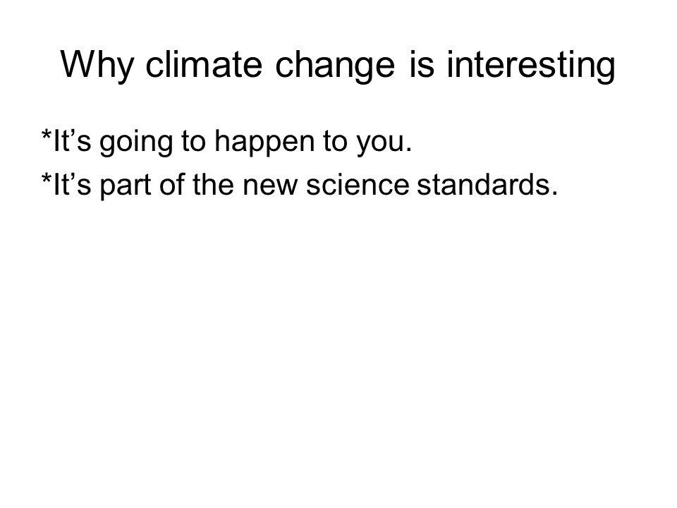 Increasing carbon dioxide