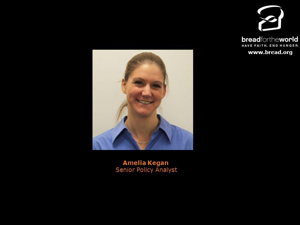 www.bread.org Amelia Kegan Senior Policy Analyst