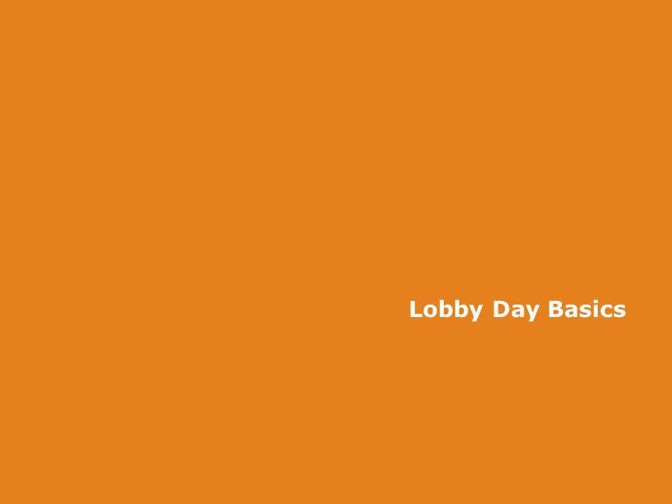 Lobby Day Basics
