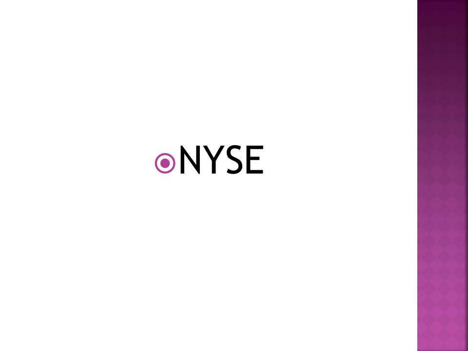  NYSE