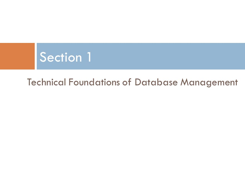 Common Database Structures: Relational A lot of commercial products exist to create and manage relational models: Mainframe relational DB applications: Oracle10g from Oracle DB2 from IBM Midrange DB applications: SQL Server from Microsoft.