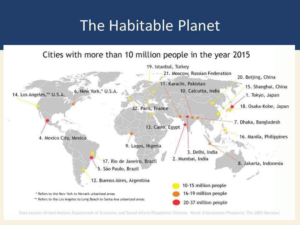 The Habitable Planet
