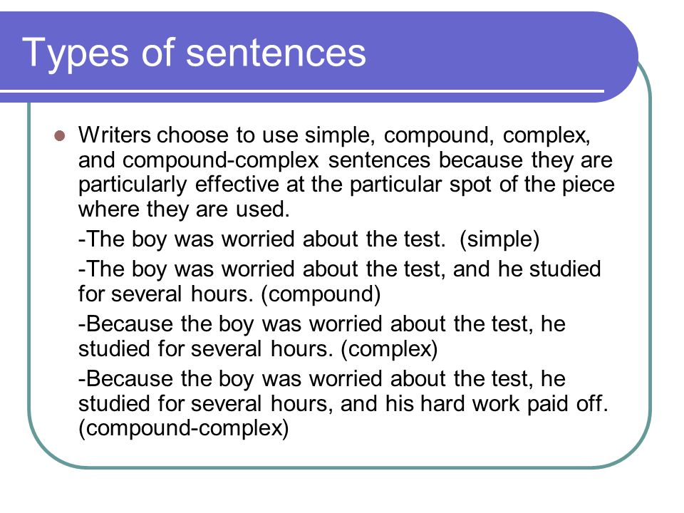 Syntax builds meaning and purpose Good writers make decisions about syntax because they know that effective word order and sentence structure will help them build meaning, purpose and effect with readers.