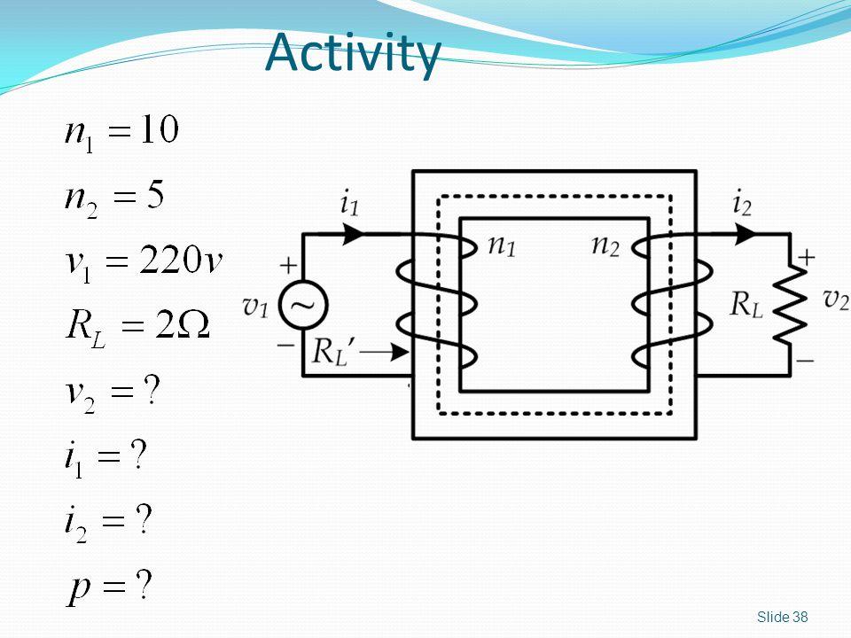 Activity Slide 38