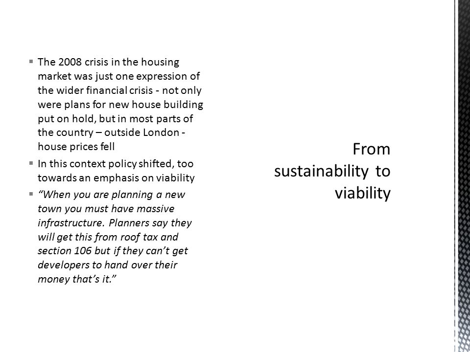  Still at the imaginative core of public policy – housing growth on the edge of the South East  Centre for Cities  City Deals – the case of Milton Keynes  No longer protected spaces: the search for invulnerability has helped to create new vulnerabilities as they have ceased to be marginal or secondary spaces