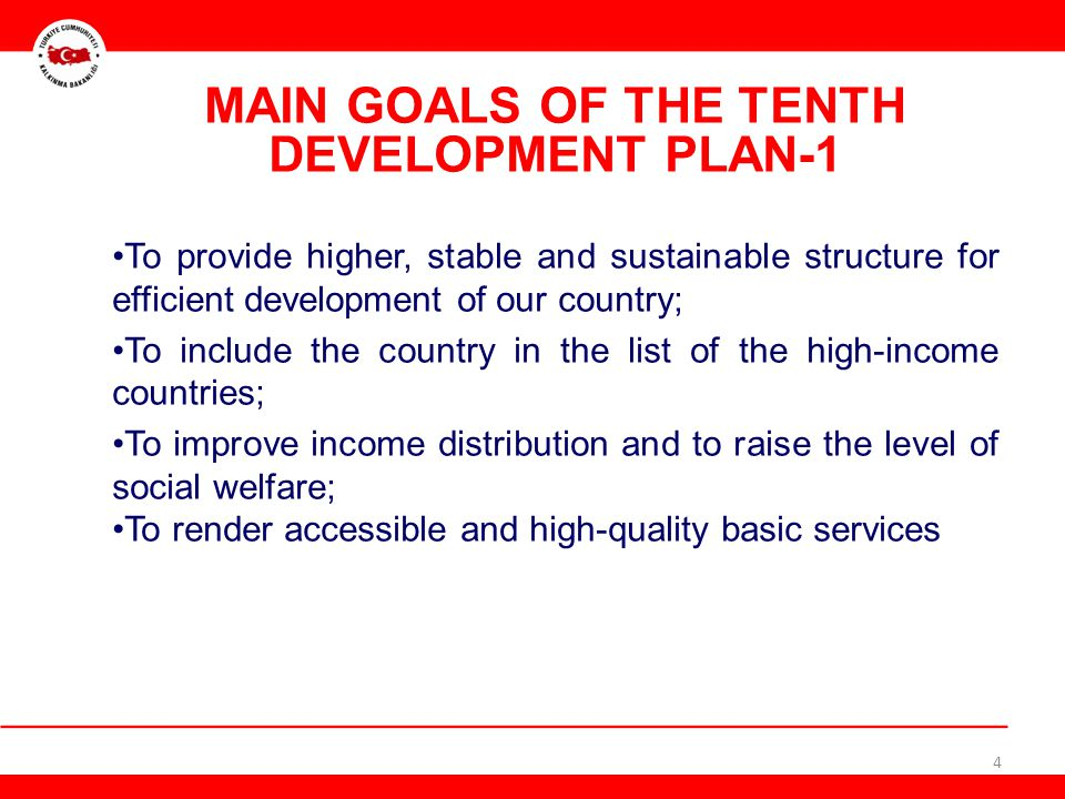Mid-term programs, annual programs, strategic plans, regional and sectoral development strategies will be developed based on the Development Plan.