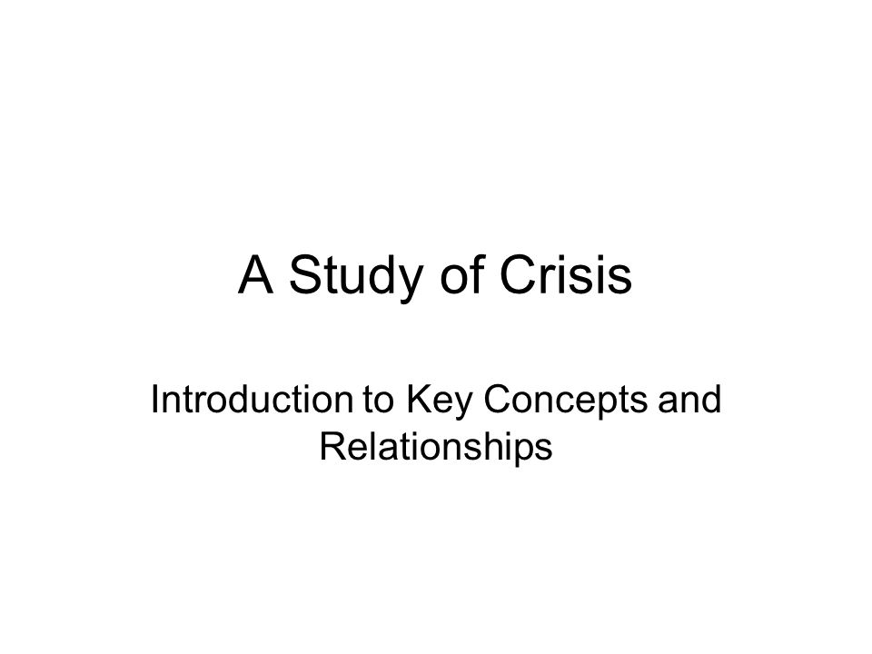 The International Crisis Behavior Project, 1918-2007 The destabilizing effects of crises, as of conflicts and wars, are dangerous to global security.
