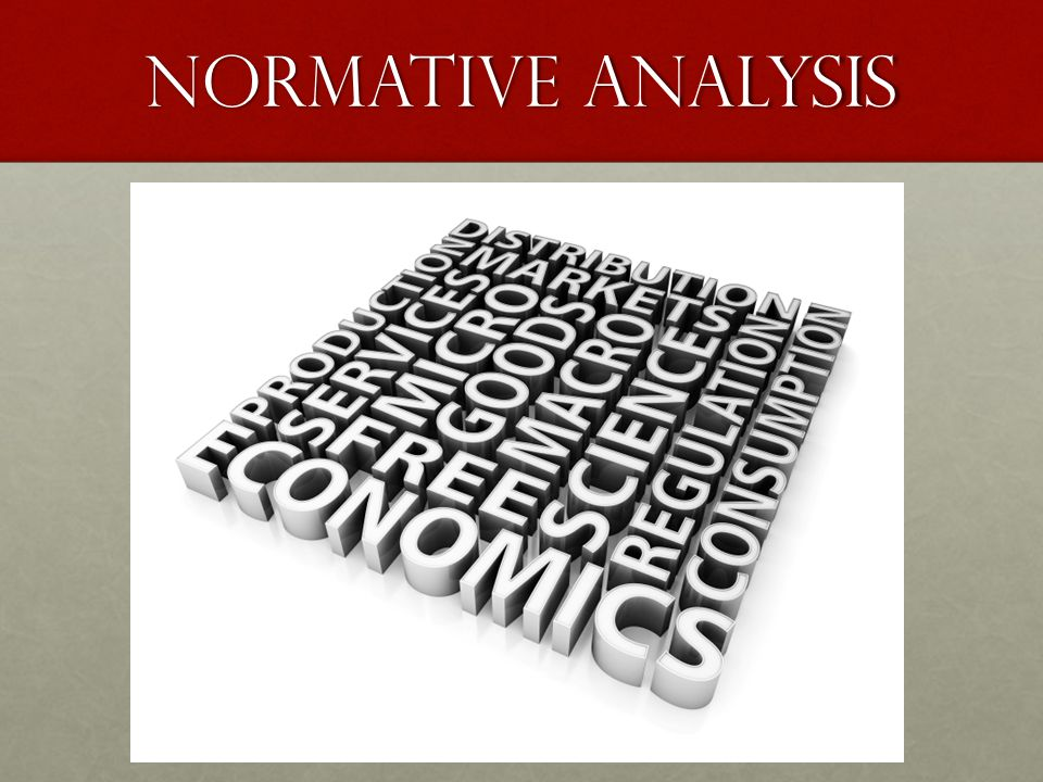 Normative Analysis