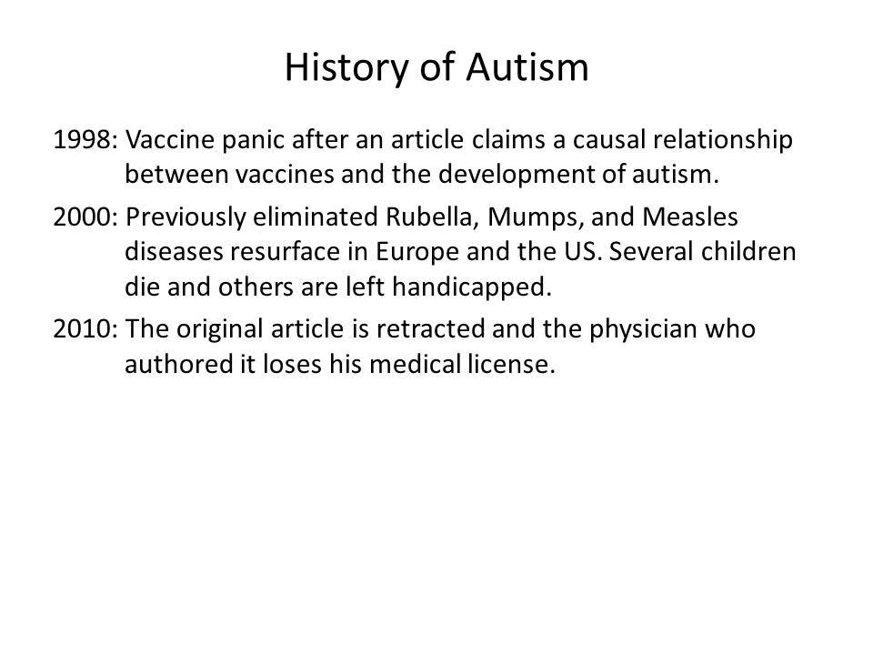 Current clinical definition – DSM IV TR Language delay and dysfunction Social difficulties Repetitive behaviors and confined interests Autism – all three Asperger – no language delay PDD NOS – mild symptoms