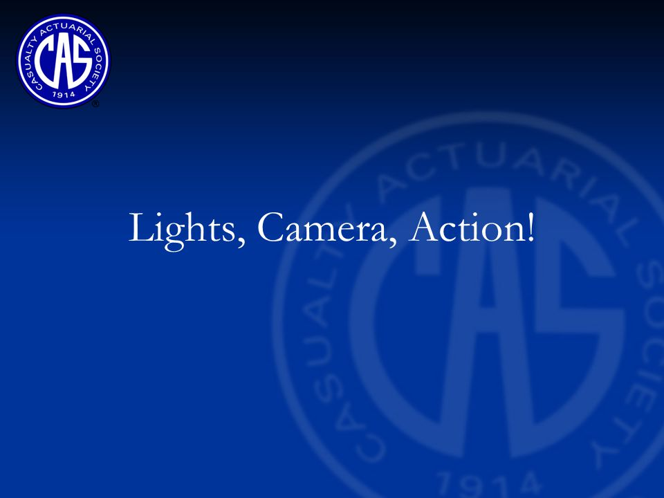 Lights, Camera, Action!