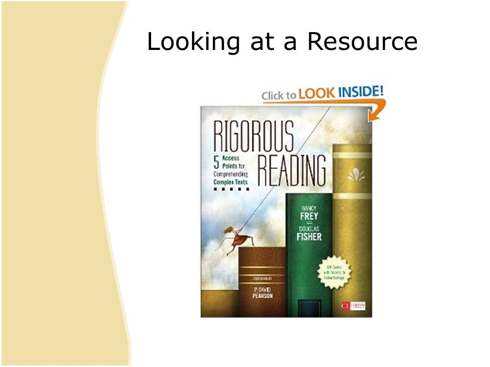 Looking at a Resource