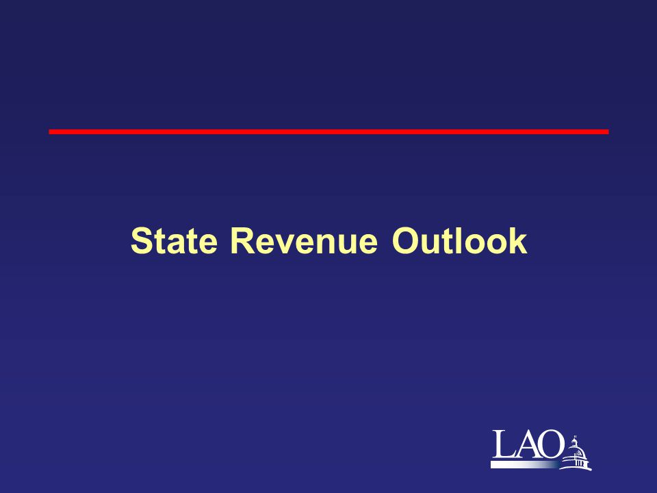 LAO State Revenue Outlook