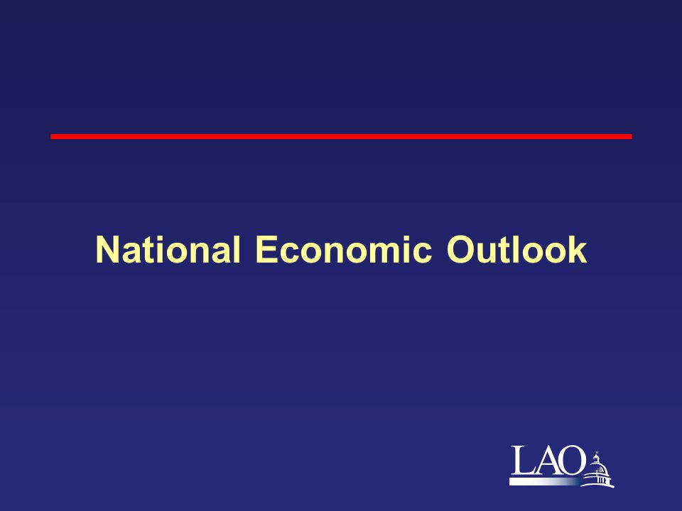LAO National Economic Outlook