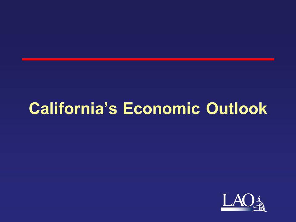 LAO California's Economic Outlook