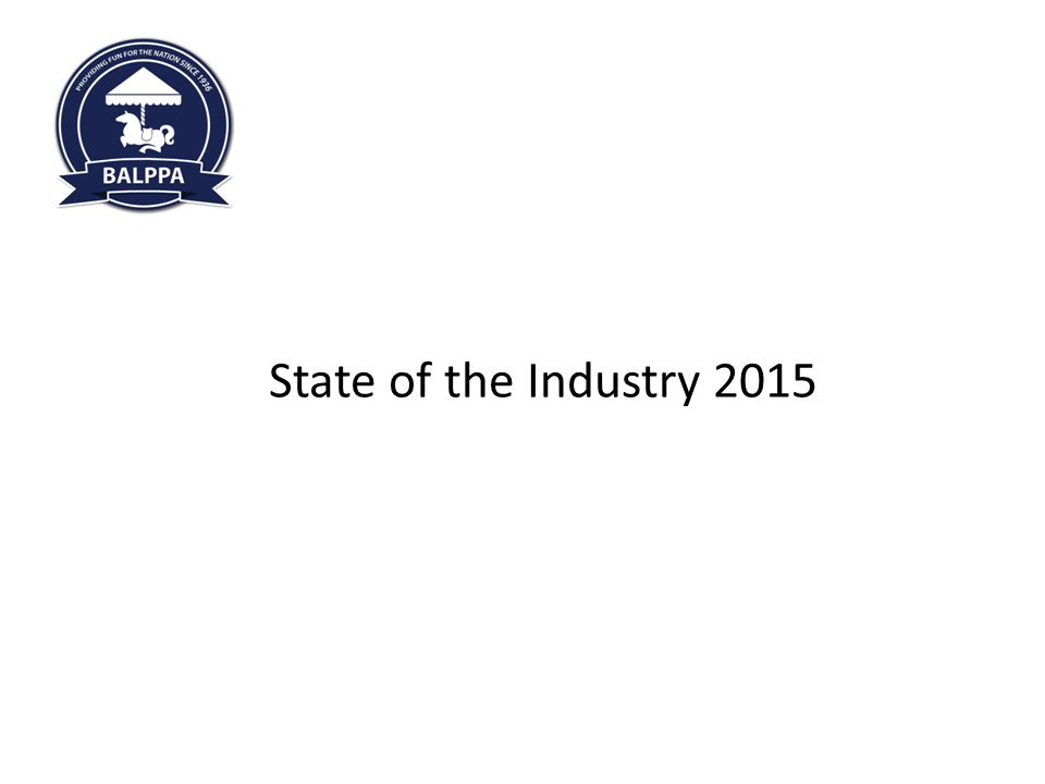 Welcome to 360 Play FEC Regional Meeting 06.02.2014 State of the Industry 2015