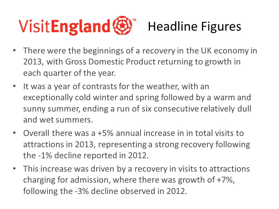 There were the beginnings of a recovery in the UK economy in 2013, with Gross Domestic Product returning to growth in each quarter of the year.