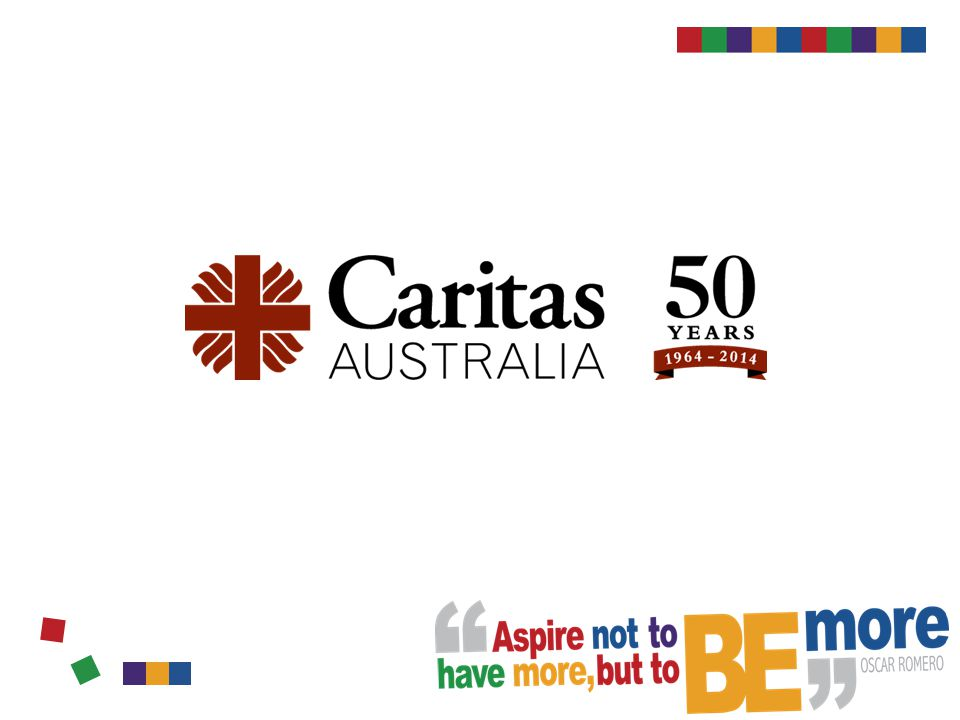 Faith in action Caritas Australia and our partners support a number of HIV/AIDS projects in countries such as El Salvador, Zimbabwe, Democratic Republic of Congo, Indonesia, Cambodia, Papua New Guinea and Burma/ Myanmar.