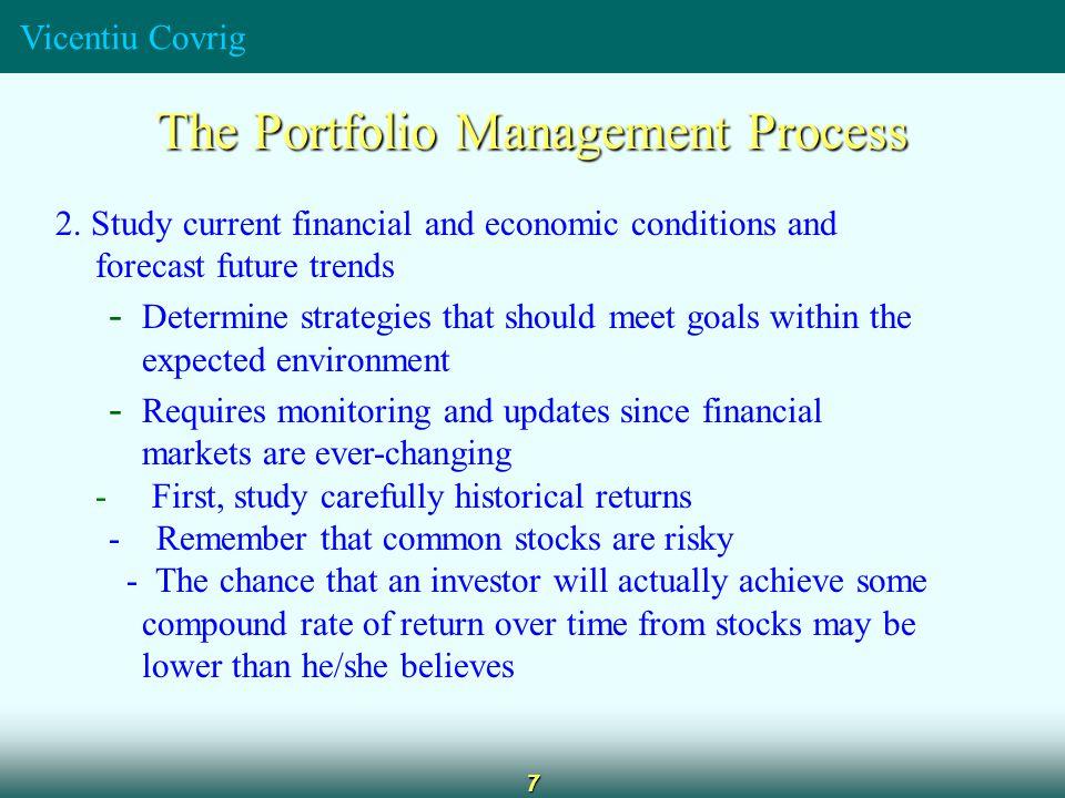 Vicentiu Covrig 7 The Portfolio Management Process 2.
