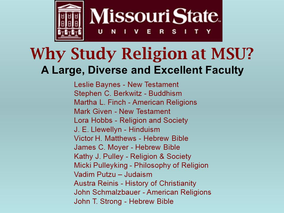 For more information on why you should consider a Religious Studies Major, Minor or Masters, visit www.studyreligion.org Image, above, from studyreligion.org (American Academy of Religion)