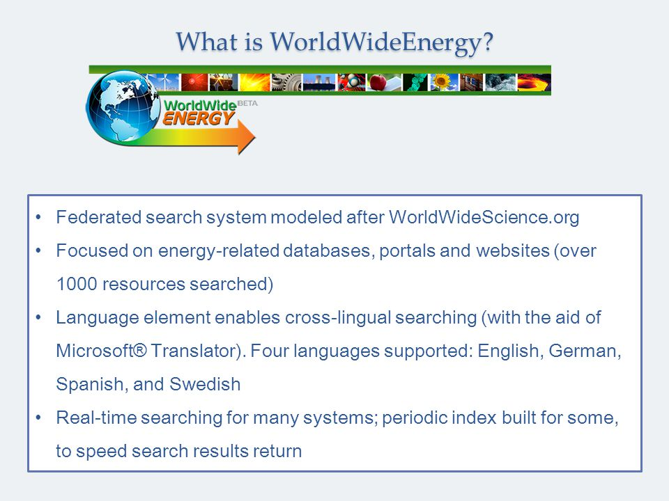 1) Search query Wikepedia and EurekAlert When all sources complete, can choose to include or not