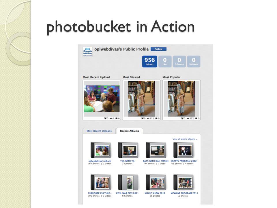 photobucket in Action