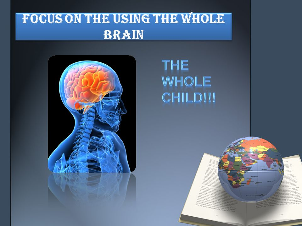 Focus on the using the Whole Brain